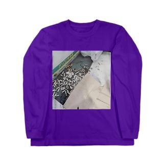 汚いベランダ(ry Long sleeve T-shirts