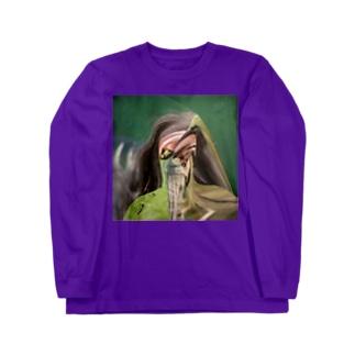 Green man  Long sleeve T-shirts