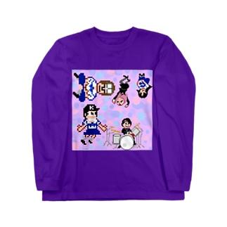 魔法少女犬子と幸子 ジャケ写2 Long sleeve T-shirts