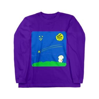 空色の涙〜嗚呼、愛しき我が星(ふるさと)よ〜 Long sleeve T-shirts