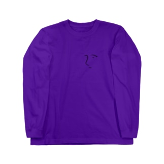自画像くん Long sleeve T-shirts