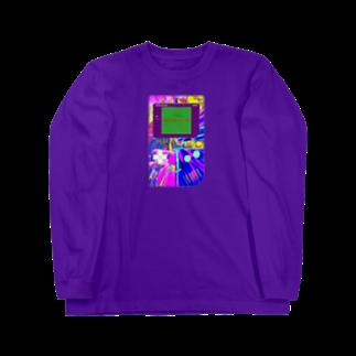 X4AXの【X ゲーム中毒 X】 Long sleeve T-shirts