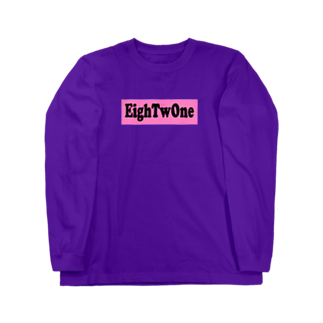 ストリートファッションはEighTwOne-821-のEighTwOne-821-BOXLOGO Long sleeve T-shirts