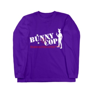 BUNNY COP LOGO W&R Long sleeve T-shirts