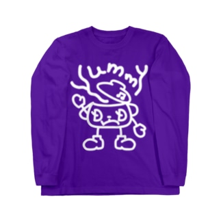 闇鍋マンは『Yummy』と鳴く Long sleeve T-shirts