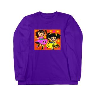 シマハナ Long sleeve T-shirts