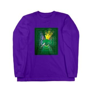 ゲロゲロ Long sleeve T-shirts
