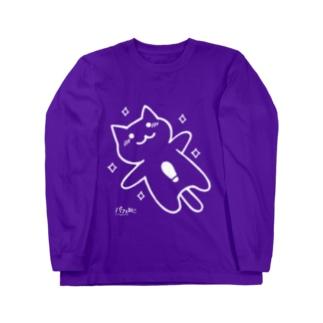 Mニャン02 Long sleeve T-shirts