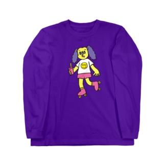 ローラーガール Long sleeve T-shirts
