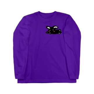くろうさぎ Long sleeve T-shirts