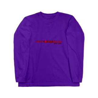DYMT 17aw 赤黒 Long sleeve T-shirts