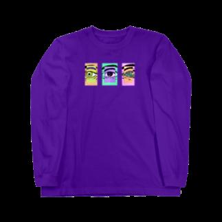 La5grmのEYES Long sleeve T-shirts