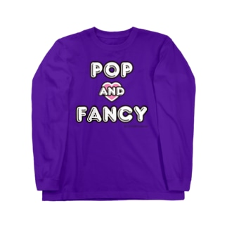 POP AND FANCY もも Long sleeve T-shirts