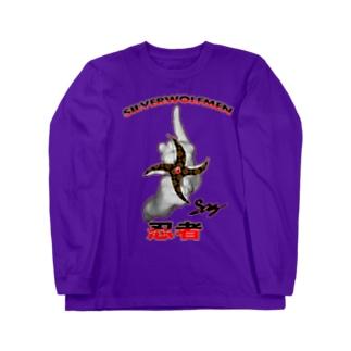 2017-18steersからの移動商品「NINJA2」 Long sleeve T-shirts