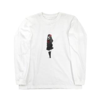二口女 ロングスリーブTシャツ