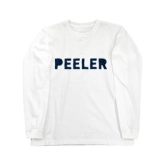 PEELER - 04(Navy) ロングスリーブTシャツ
