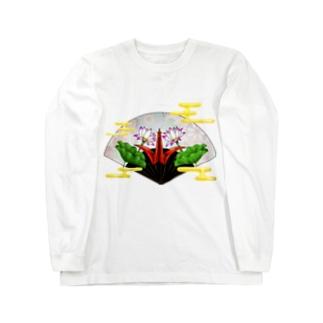 鶴 ロングスリーブTシャツ