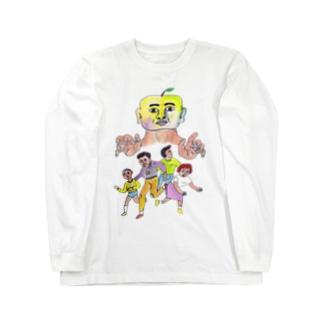 梨男 ロングスリーブTシャツ