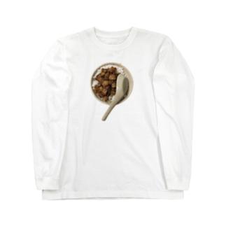 魯肉飯 ロングスリーブTシャツ