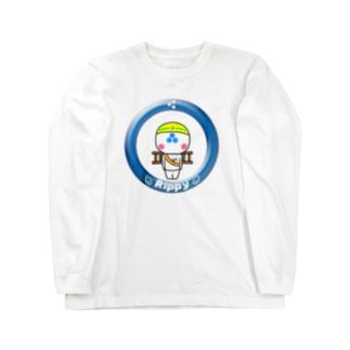 りっぴぃくん現場バージョン ロングスリーブTシャツ