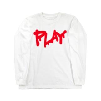 DRIP LOGO  R ① ロングスリーブTシャツ