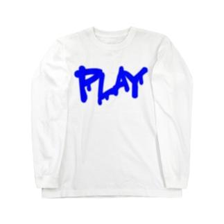DRIP LOGO  B ① ロングスリーブTシャツ