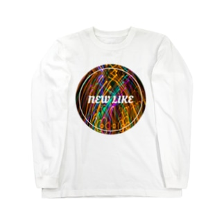 NEW LIKE ロゴ[シュインシュイン] ロングスリーブTシャツ