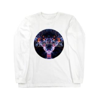 NEW LIKE ロゴ[ヤケイヤケイ] ロングスリーブTシャツ