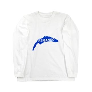 レマン湖 ロングスリーブTシャツ