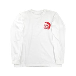 カニ大好きクラブ ロングスリーブTシャツ