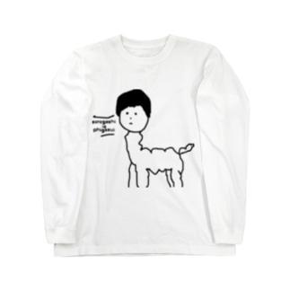 アルパガシ ロングスリーブTシャツ