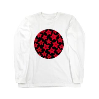 あかのほしくん ロングスリーブTシャツ