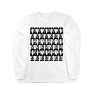 MOGUMO SHOPの社畜ねずみくん ロングスリーブTシャツ