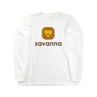 savanna ロングスリーブTシャツ