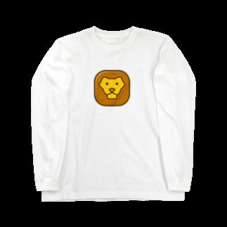 willnetのSavanna lion face ロングスリーブTシャツ