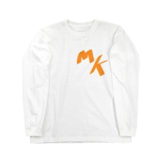 M(みやじ)K(きよし) ロングスリーブTシャツ