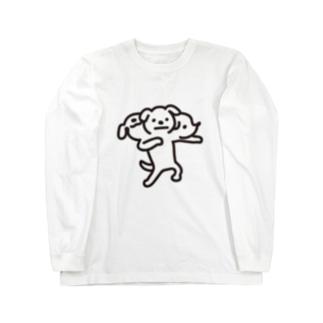 地獄の番人ペロス ロングスリーブTシャツ