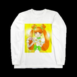 みことのお店のキュアロゼッタ ロングスリーブTシャツ