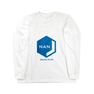 NANJCOIN公式ロゴ入り ロングスリーブTシャツ