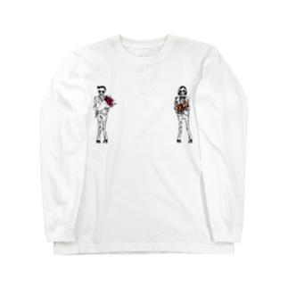 present ロングスリーブTシャツ