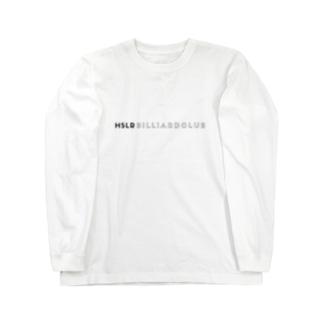 HSLR Billiard club mono ロングスリーブTシャツ