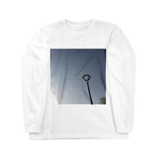 ひとりとそら ロングスリーブTシャツ