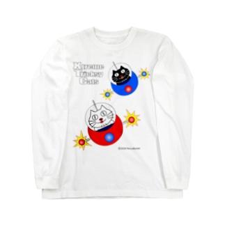 ネコ兄弟 XTC_027 ロングスリーブTシャツ