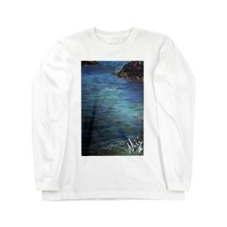 blue sea ロングスリーブTシャツ