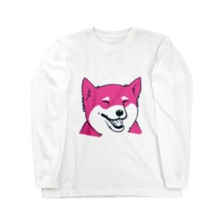 シバわん01 ロングスリーブTシャツ