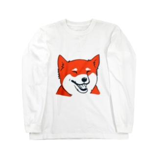 シバわん06 ロングスリーブTシャツ