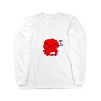おち。 ロングスリーブTシャツ
