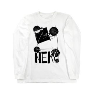 I LOVE CAT. ロングスリーブTシャツ
