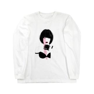 Devil Girl ロングスリーブTシャツ