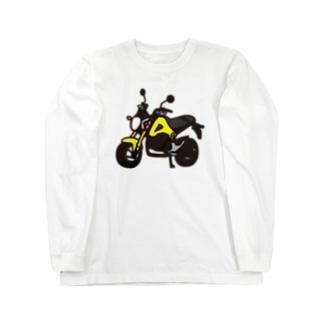 GROM YELLOW ロングスリーブTシャツ